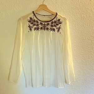 Lucky Brand blouse worn once Size Large